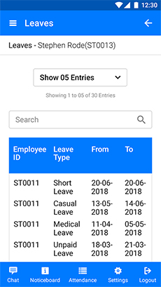 Leave Scheduling Software