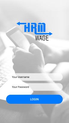 HRM Wage Login